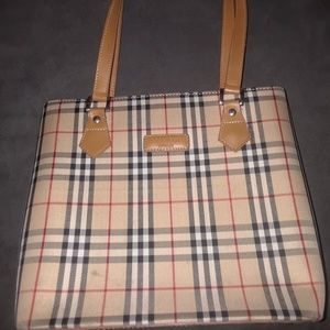 Burberry satchel bag